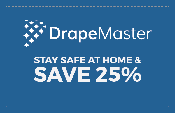 Stay safe at home & SAVE 25%